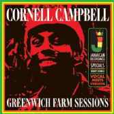 Cornel Campbell - Greenwich Farm Sessions (Jamaican Recordings) Coloured Vinyl LP